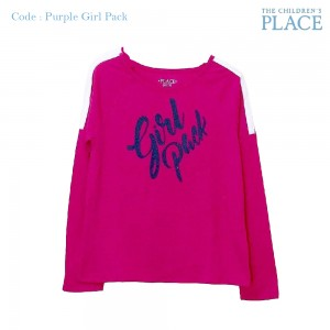 PLACE 2.1 PURPLE GIRL PACK KAOS ANAK GIRL PACK