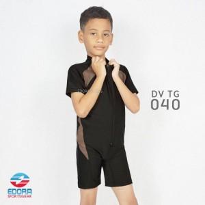 ED DV TG 040 BLACK BAJU RENANG EDORA