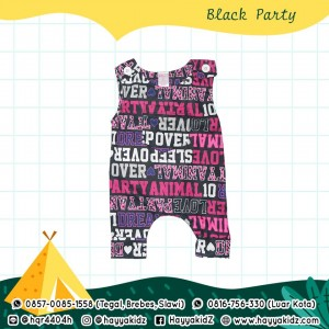 BB 5.12 BLACK PARTY JUMPSUIT BOBO