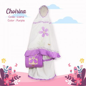 CR 2.11 LIANA PURPLE SZ S MUKENA CHOIRINA