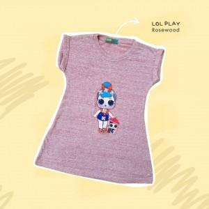 BLK 1.4 LOL PLAY ROSEWOOD BLINK DRESS