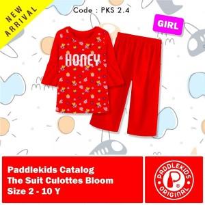 PKS 2.4 RED HONEY CULOTTES SET PADDLE KIDS