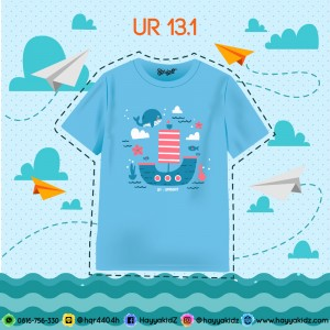 UR 13.1 SEA KAOS ANAK UPRIGHT