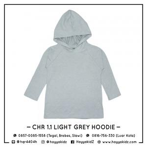CHR 1.1 LIGHT GREY HOODIE CHEROKEE SHIRT