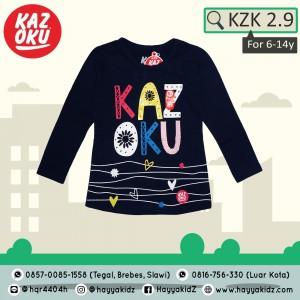 KZK 2.9 NAVY LOVE KAOS ANAK KAZOKU