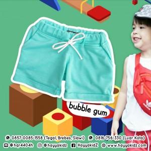 FBS BUBBLE GUM FANCY BOY SHORT PANTS