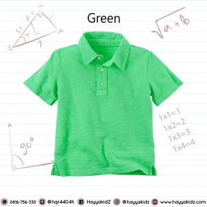 POLO 1.4 GREEN  KAOS ANAK