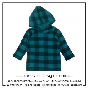 CHR 1.12 BLUE SQ HOODIE CHEROKEE SHIRT