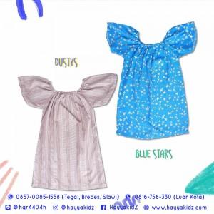 ANETTE DRESS BLUE STARS